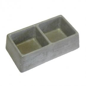 Be-Mi Dvojmiska betonová 2 x 0,3 l