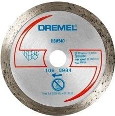 Dremel DSM20 DSM540 Diamantový řezný kotouč na dlaždice