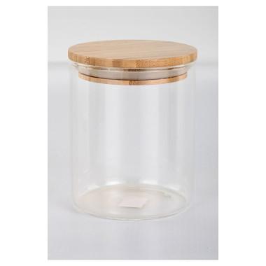dóza kul. 0,65l skl.+bambus víčko