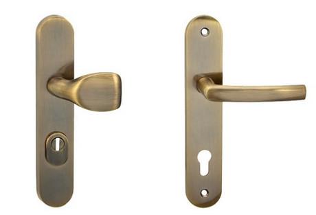 COBRA C101+ – PZ – 72 mm překrytka bronz česaný