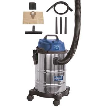 ASP 15 ES - průmyslový vysavač na suché / mokré vysávání 15 l