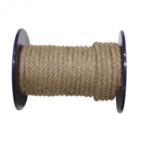lano J/PP 8mm konopné stáčené (100m)