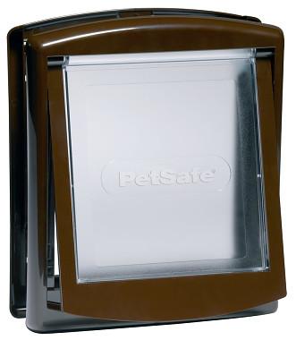 PetSafe Dvířka Staywell 730 Originál, hnědá, velikost S