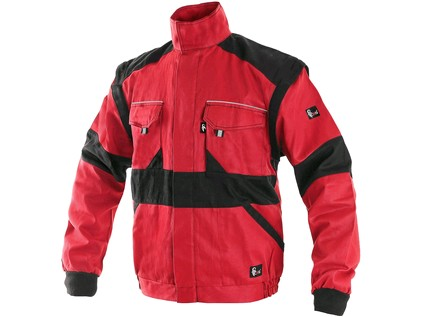 Blůza CXS LUXY EDA, pánská, červeno-černá, vel. 52