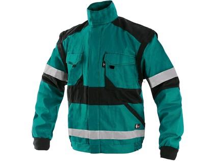 Blůza CXS LUXY BRIGHT, pánská, zeleno-černá, vel. 50