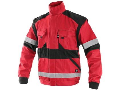 Blůza CXS LUXY BRIGHT, pánská, červeno-černá, vel. 54