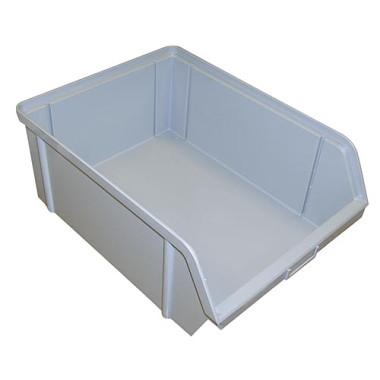 Alfa Plastik Bedna ukládací zkosená 3kg šedá
