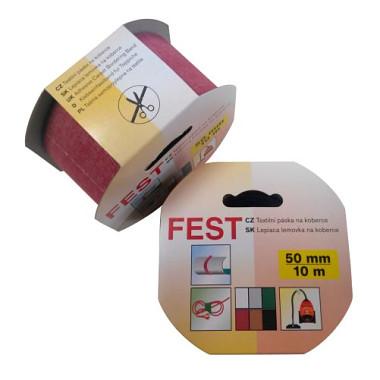 FEST TAPE Textilní páska na koberce 50 mm x 10 m béžová