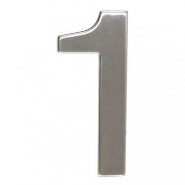 číslo domovní č.1  95mm nerez