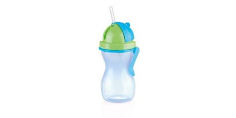 Dětská láhev s brčkem BAMBINI 300ml-ZeMo